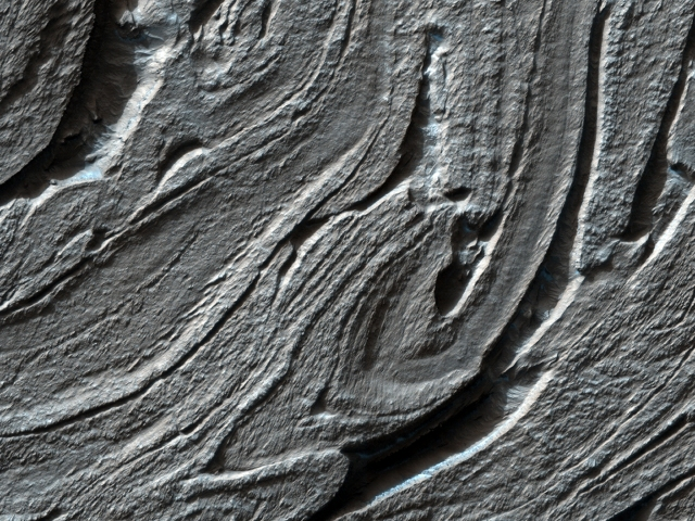 Hellas Planitia, Twisted Terrain